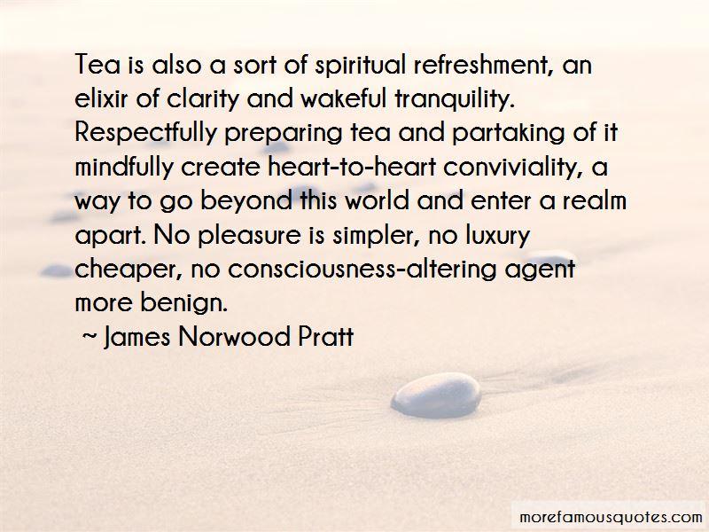 Spiritual Refreshment Quotes