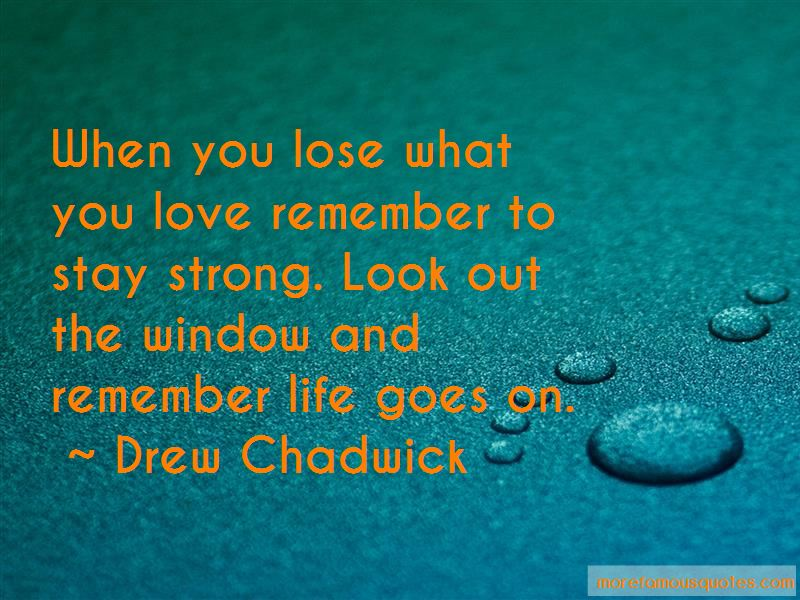 Stay Strong We Love You Quotes