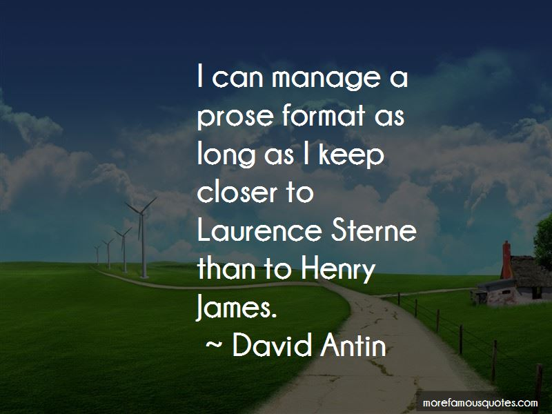Sterne Quotes