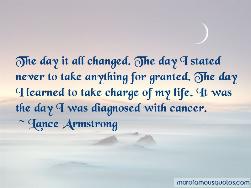 Take Charge Of My Life Quotes