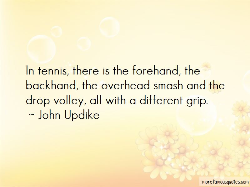 Tennis Forehand Quotes