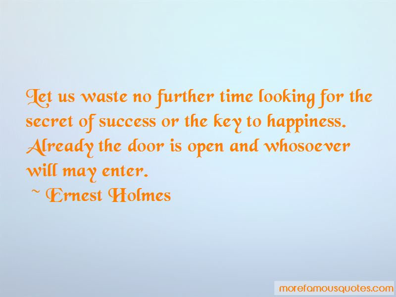The Secret Door To Success Quotes