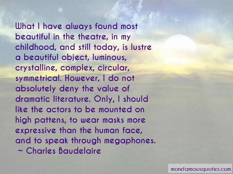 Theatre Masks Quotes
