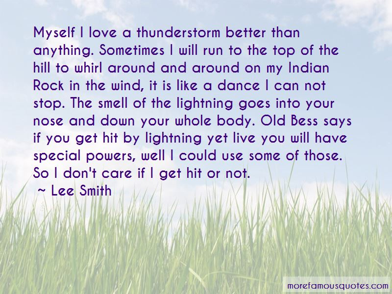 Thunderstorm Lightning Quotes