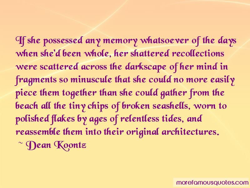 Tides Of Memory Quotes