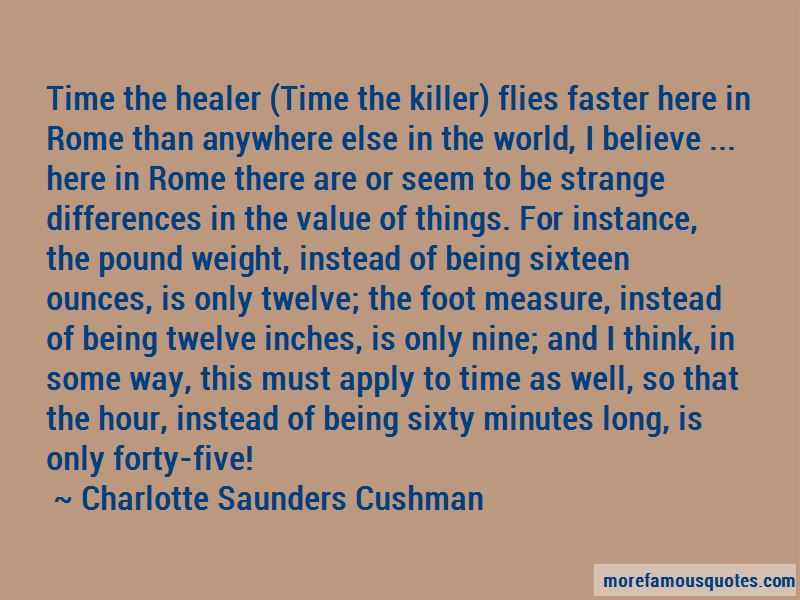 Time Is The Only Healer Quotes