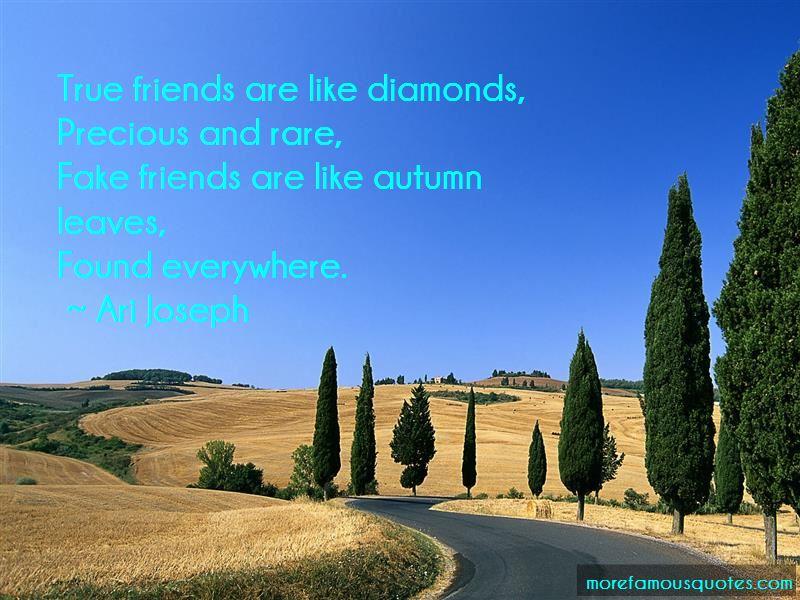 True Friends Are Like Diamonds Quotes