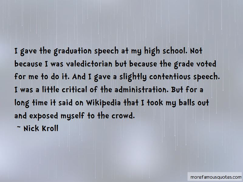 valedictorian graduation speech quotes top quotes about