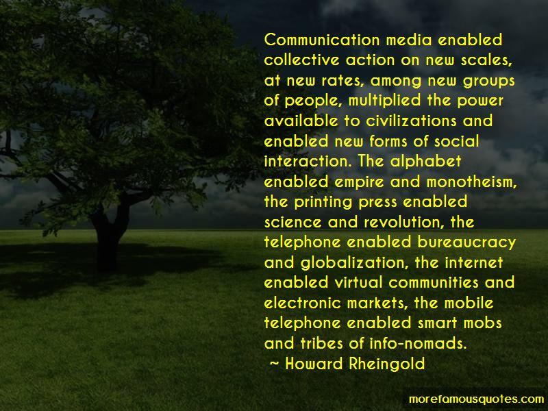Virtual Communities Quotes