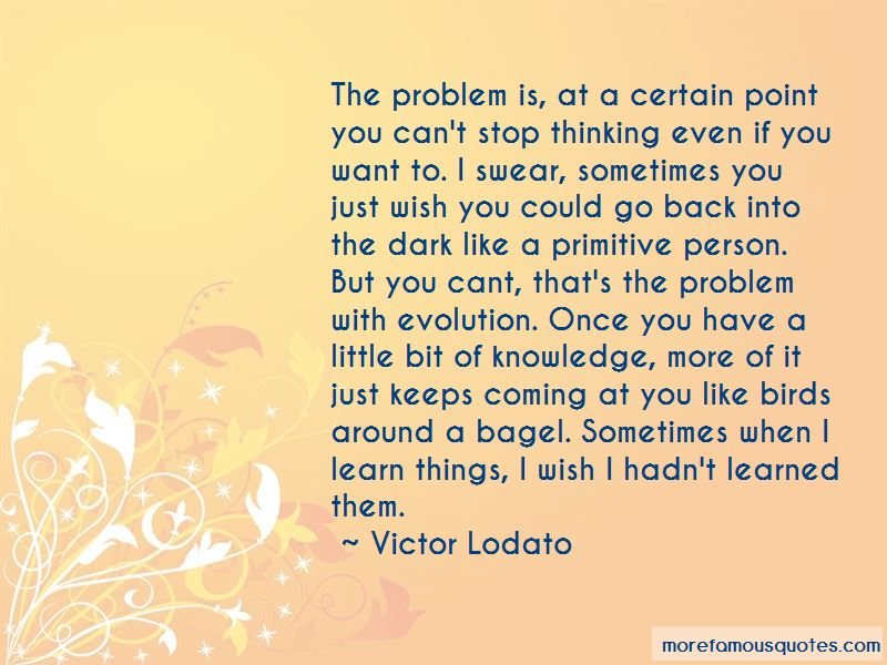 Him quotes of about thinking 40 Romantic