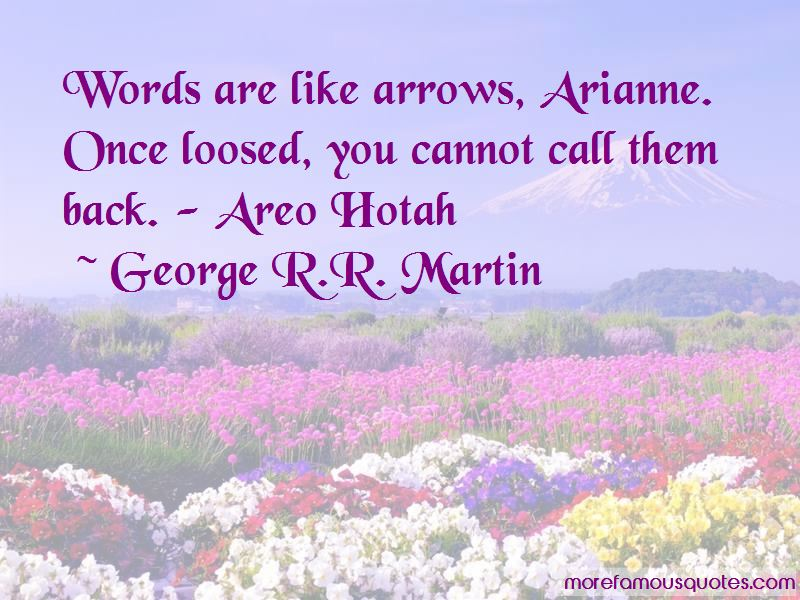 Words Are Like Arrows Quotes Pictures 2