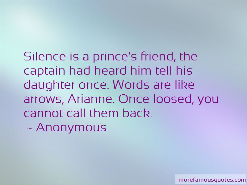 Words Are Like Arrows Quotes Pictures 4