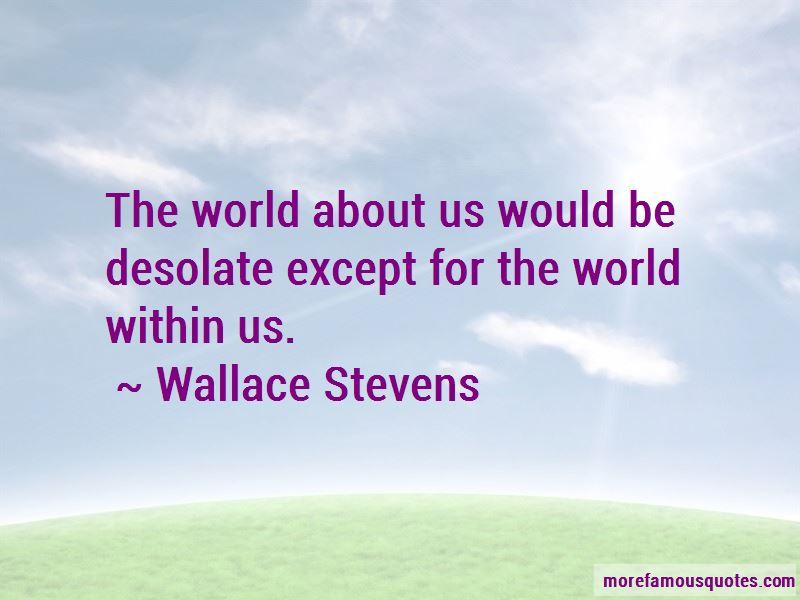 World Within Us Quotes