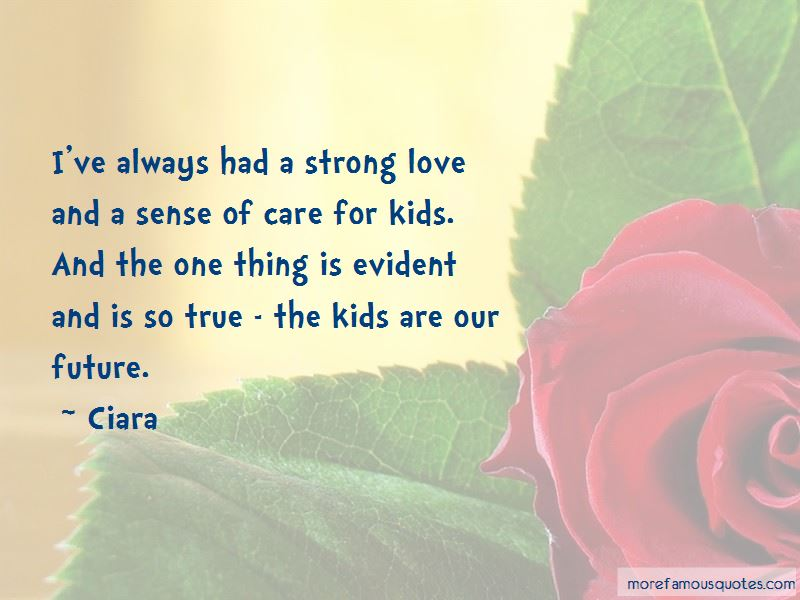 A Strong Love Quotes