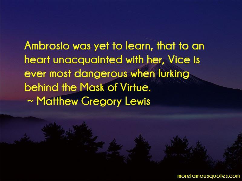 Ambrosio Quotes