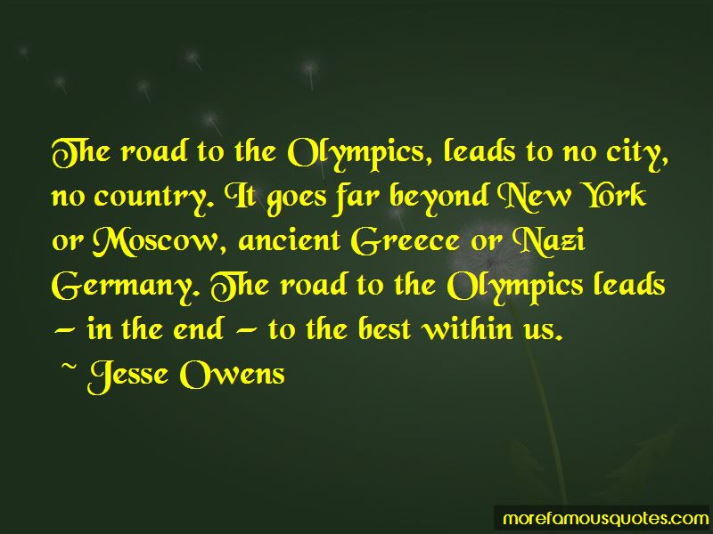 Ancient Greece Olympics Quotes