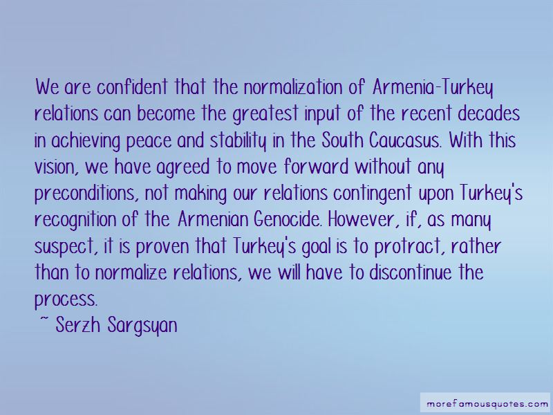 Armenian Genocide Recognition Quotes