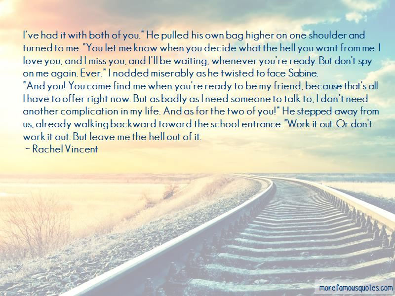 Badly Waiting Quotes