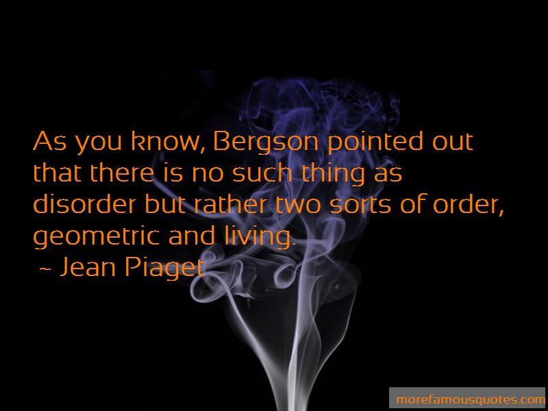 Bergson Quotes