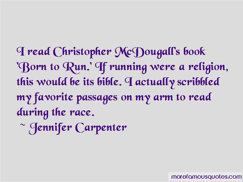 Born To Run Book Quotes
