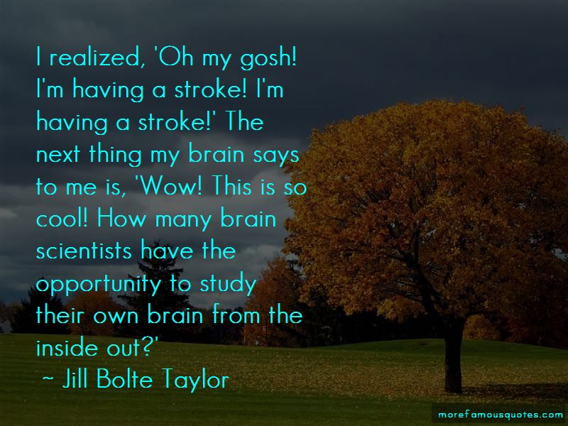 Brain Stroke Quotes