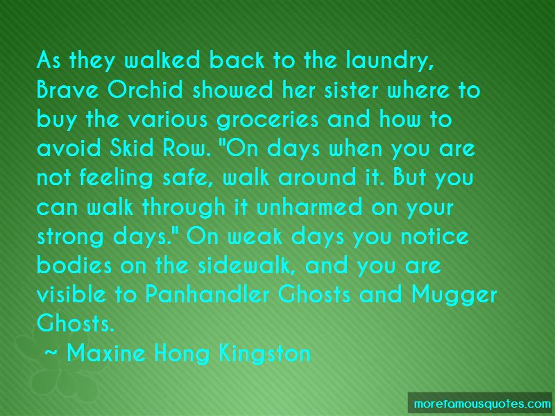 Brave Orchid Quotes