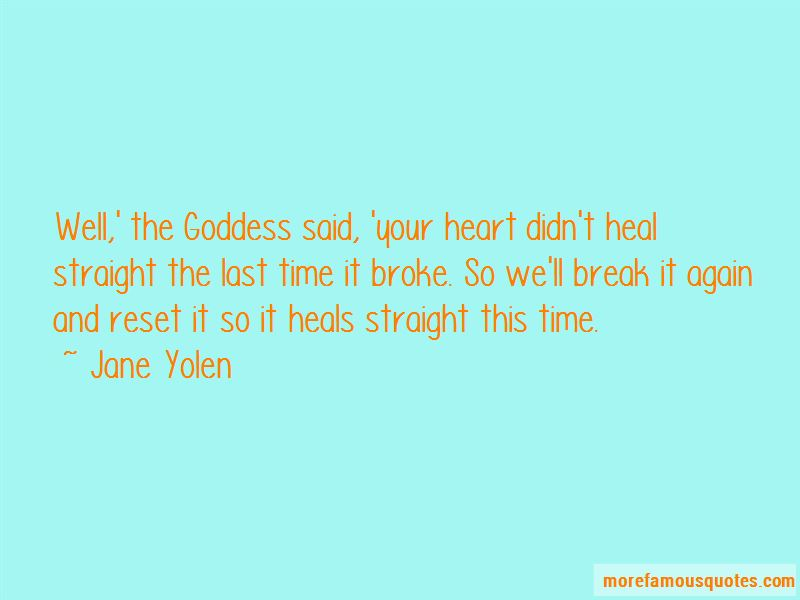 Break My Heart Again Quotes