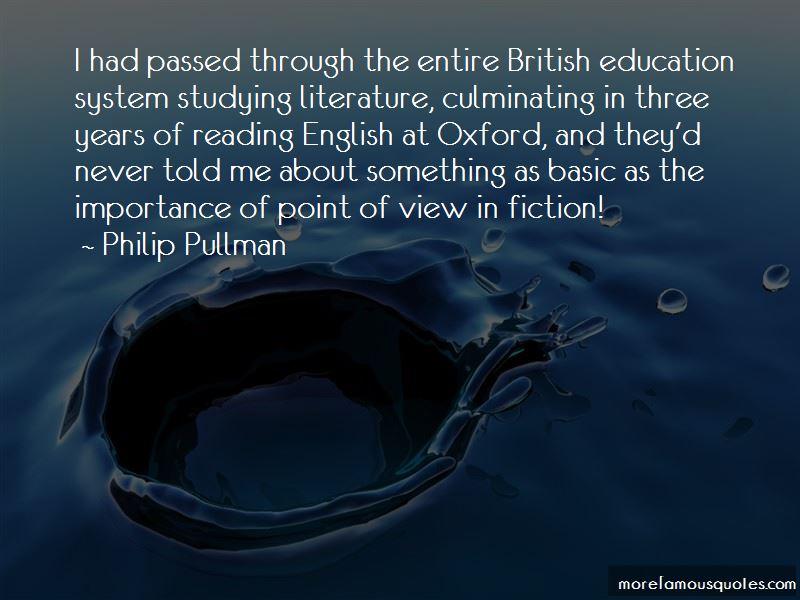 British Education System Quotes