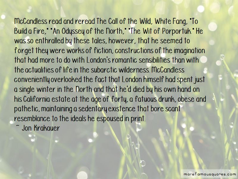 Call Of The Wild And White Fang Quotes