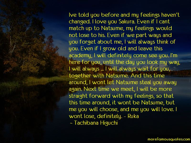 Can't Choose Love Quotes