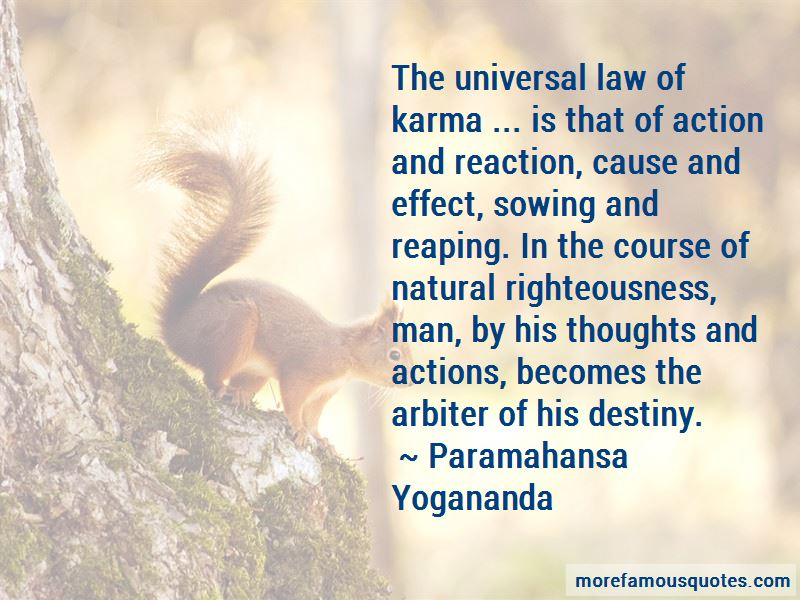 Cause And Effect Karma Quotes Top 12 Quotes About Cause And Effect