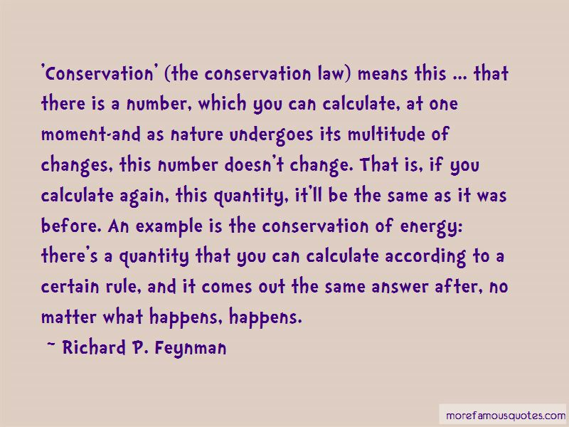 Change Law Nature Quotes