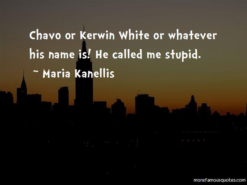 Chavo Quotes