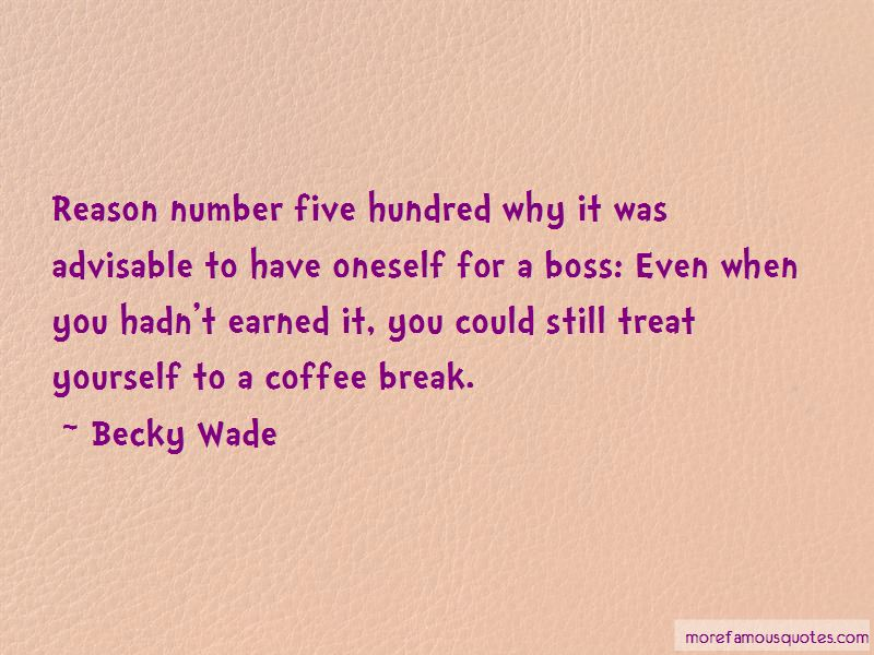 Coffee Break Quotes