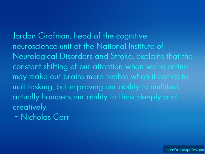 Cognitive Neuroscience Quotes