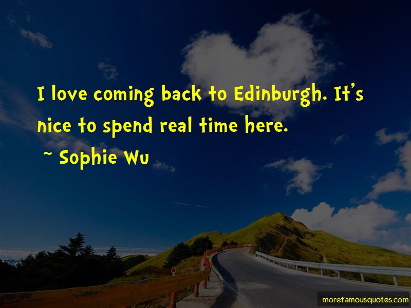 Coming Back To My Love Quotes