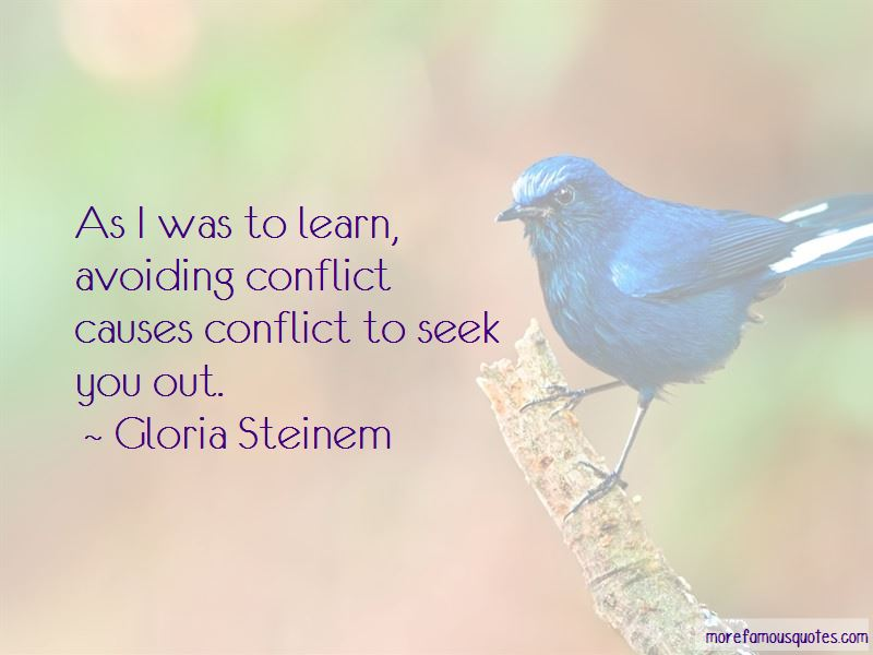 Conflict Causes Quotes