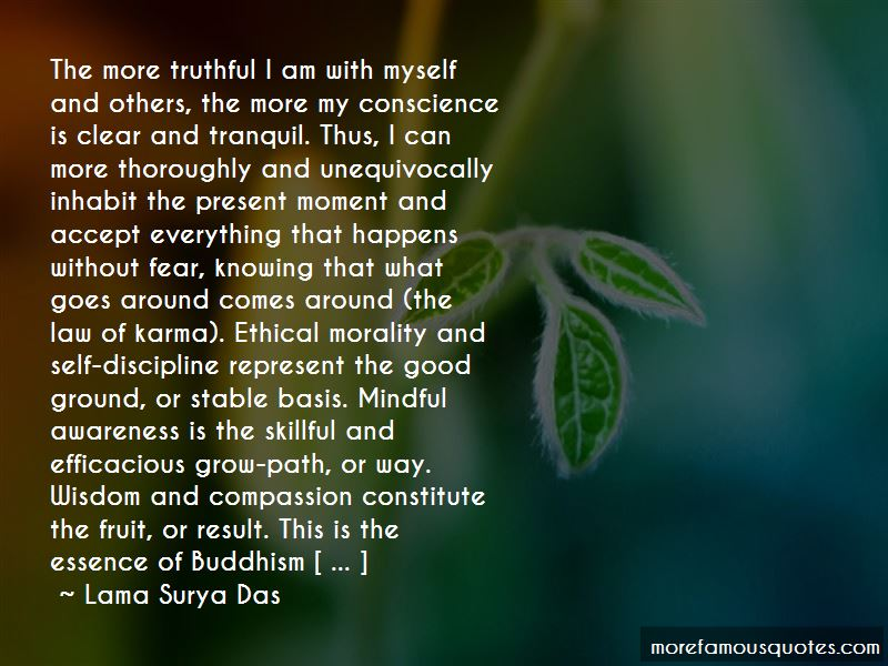 Conscience And Karma Quotes