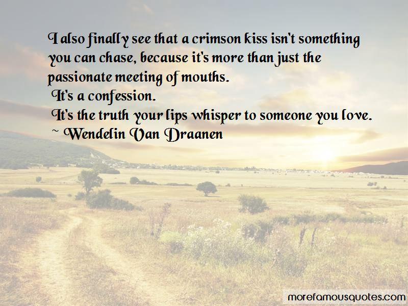 Crimson Kiss Quotes