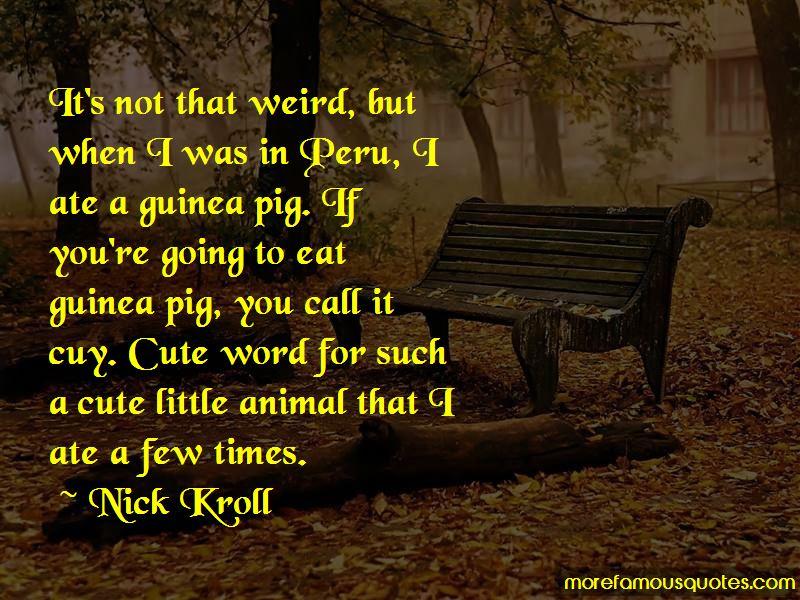 Cute Guinea Pig Quotes