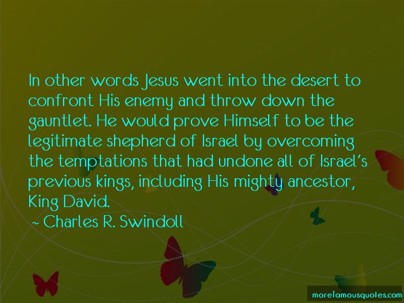 David King Of Israel Quotes