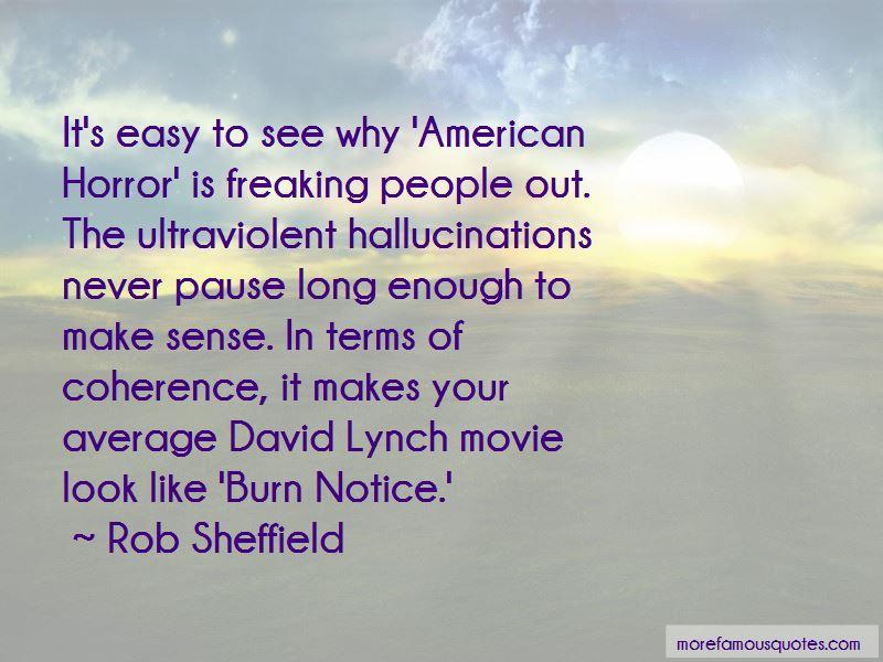 David Lynch Movie Quotes