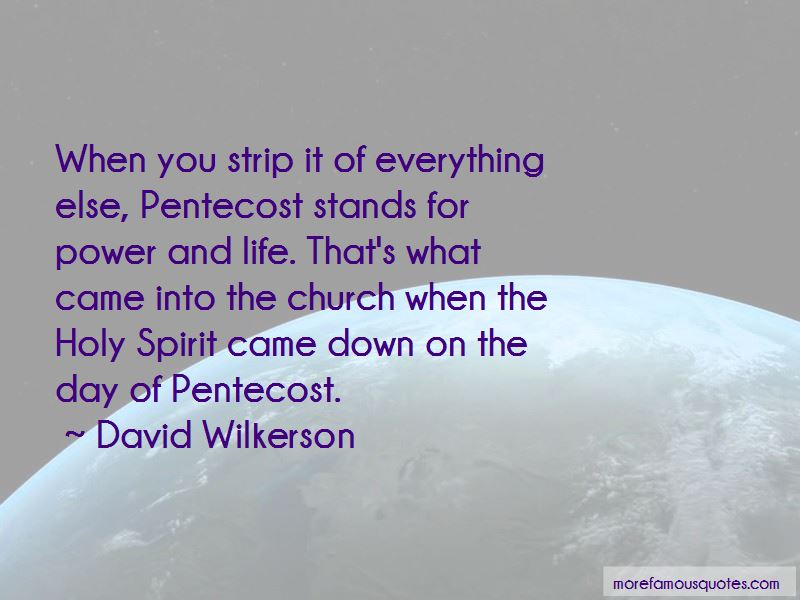 Day Of Pentecost Quotes