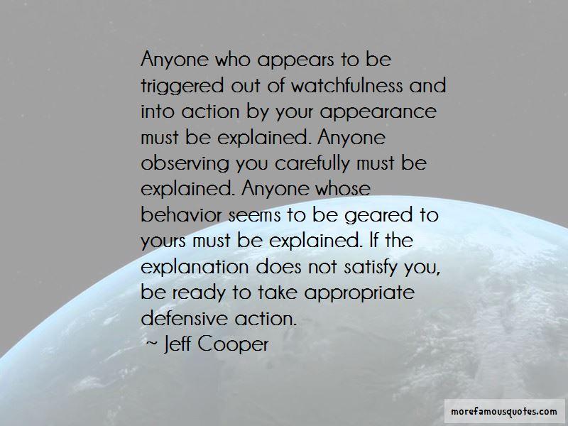 Defensive Behavior Quotes
