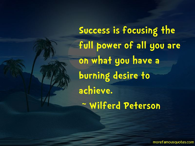 Desire To Achieve Quotes