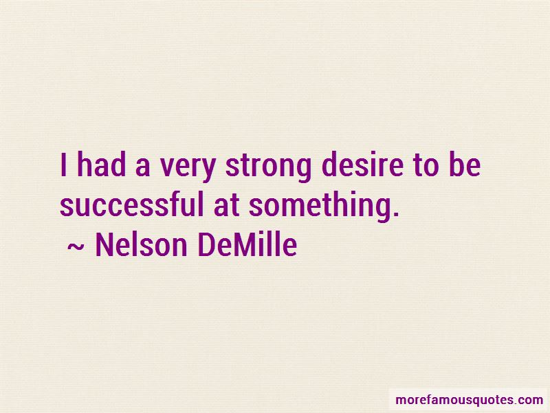 Desire To Be Successful Quotes