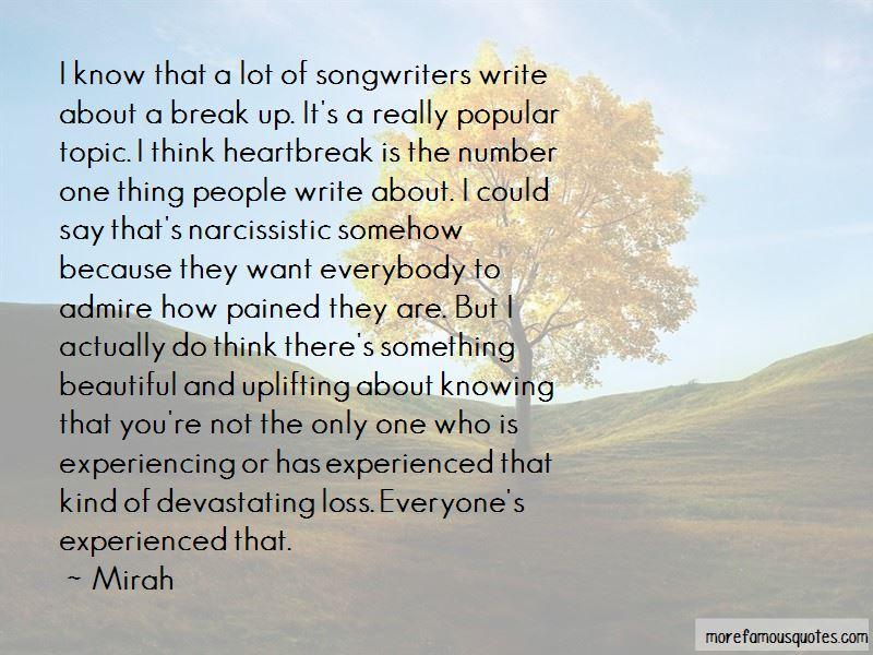 Devastating Break Up Quotes