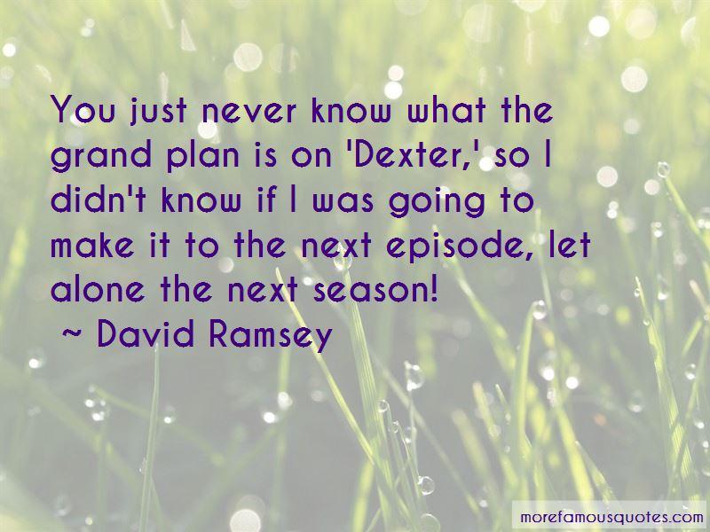Dexter Season 7 Episode 1 Quotes