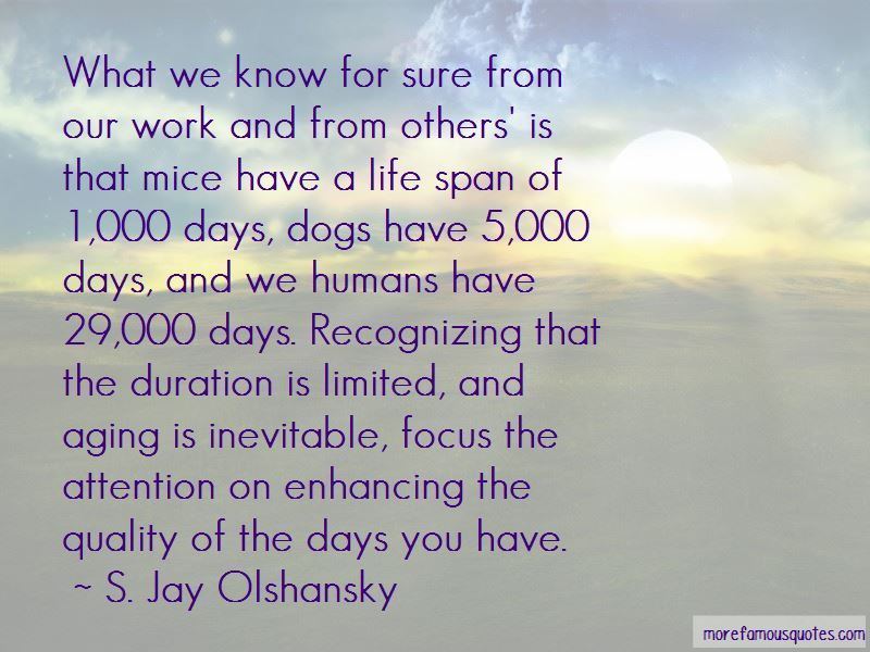Dogs Life Span Quotes