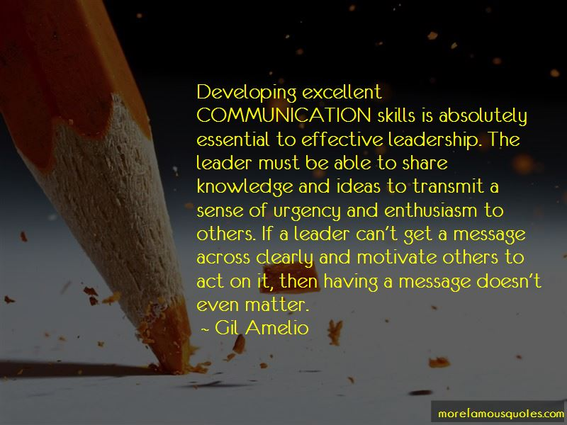 Effective Leadership Communication Quotes
